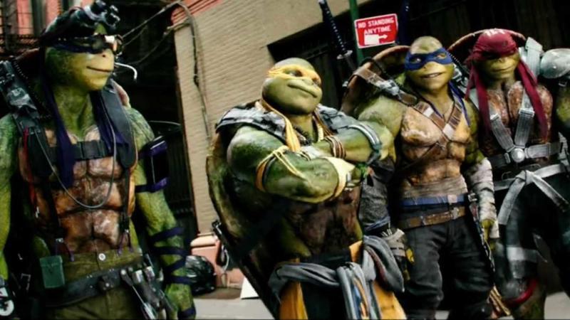 Teenage Mutant Ninja Turtles: Out of the Shadows (Credit: Paramount)
