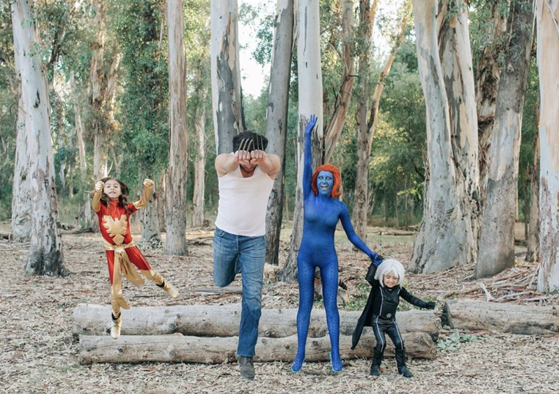 "<p>Superhero groups make the best family costumes, too. We love this how excited this dad is to be Wolverine. </p><p><em><a href=""http://themotheroverload.com/http://themotheroverload.com/"" target=""_blank"">Get the tutorial at The Mother Overload »</a></em></p>"