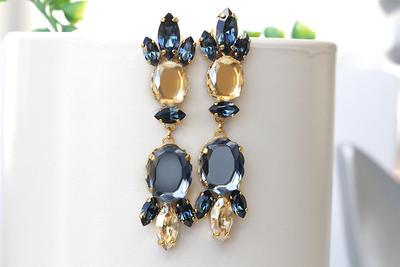 Champagne Drop 24K Gold Bridesmaids Earrings Blush Pink Bridesmaids Gold Earrings Blush Pink Teardrop Dainty Earrings Gold Jewellery