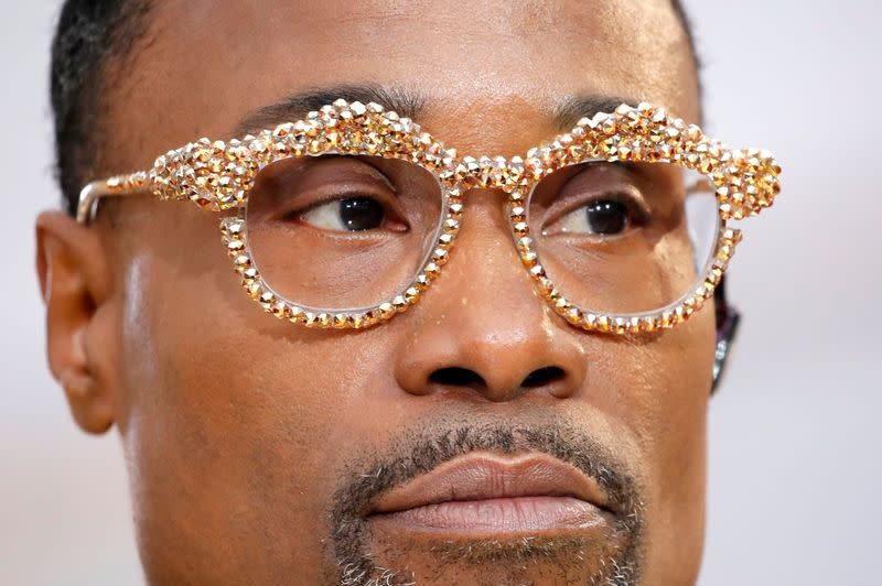 FILE PHOTO: Billy Porter poses on the red carpet during the Oscars arrivals at the 92nd Academy Awards in Hollywood