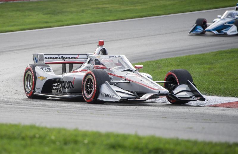 IndyCar Mid Ohio Auto Racing