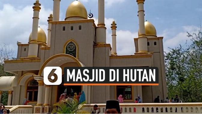 VIDEO: Usai Viral, Masjid Megah di Hutan Kini Jadi Destinasi Wisata Religi