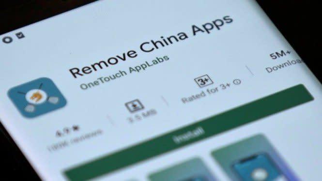 Aplikasi Anti China Merajai Google Playstore