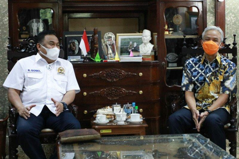 Ketemu Ganjar, Wakil Ketua DPR Rachmat Gobel bahas investasi IKM