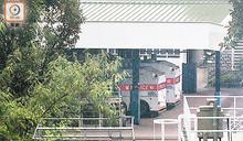 兩水炮車 進駐黃竹坑警校戒備