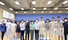 林鄭月娥下午到訪香港體育學院了解運動員備戰東奧