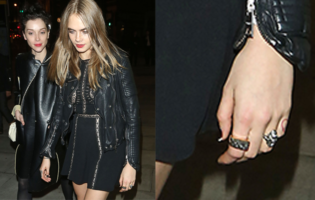 Are Cara Delevingne And St Vincent Engaged