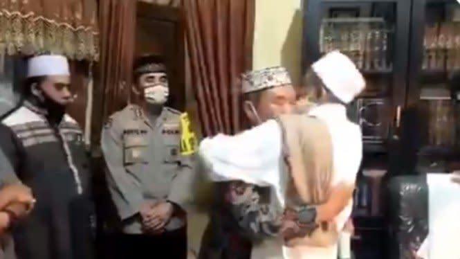 Habib Umar Assegaf Tunggu 'Perdamaian' dengan 2 Polisi Lainnya