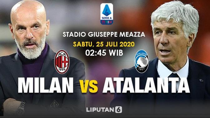 AC Milan vs Atalanta (Triyasni/Liputan6.com)