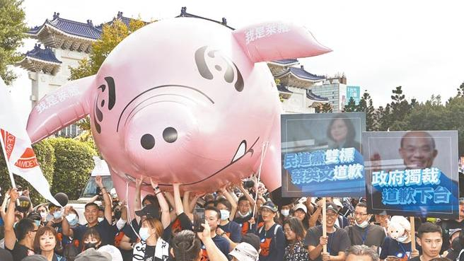 秋鬥後反萊豬連署破14萬人,你會不會去連署?