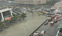 雨彈炸雙北!信義區水淹及腰 北北基淹水警戒齊發