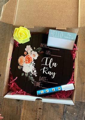custom gift box baby box gift first time mom gift box neutral gift set baby gift set new baby present birth stat newborn gift box