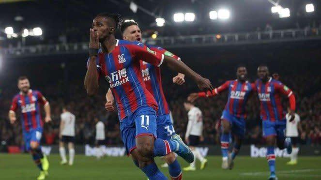 Penyerang Crystal Palace, Wilfried Zaha