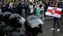 明斯克大規模示威 白俄警方驅離濺血拘捕數百人