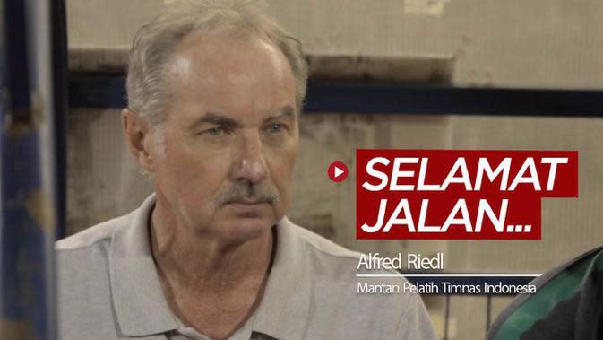 VIDEO: Selamat Jalan Alfred Riedl, Pelatih yang 2 Kali Nyaris Bawa Timnas Indonesia Juara Piala AFF