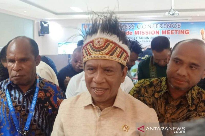 Menpora akan undang timnas menjajal Stadion Papua Bangkit
