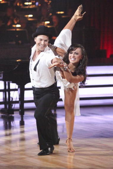 Gavin DeGraw and Karina Smirnoff (4/02/12)