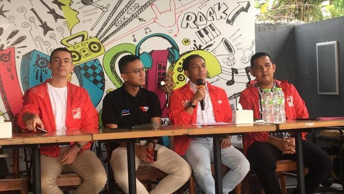 Faldo Maldini resmi bergabung dengan Partai Solidaritas Indonesia (PSI). (Istimewa)