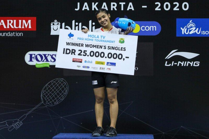 Gregoria juarai tunggal putri turnamen internal PBSI