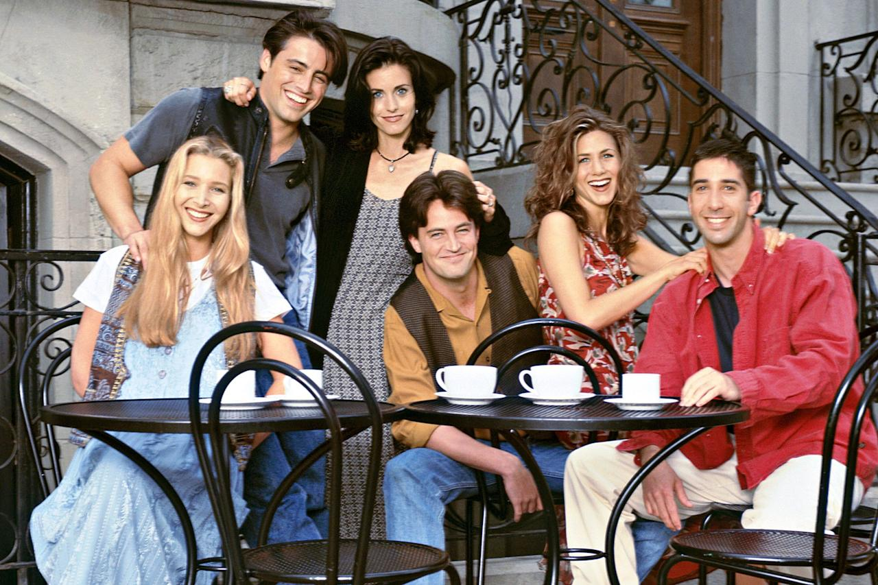 "Our favorite <em><a href=""https://ew.com/creative-work/friends/"">Friends</a> </em>are officially getting back together for a <a href=""https://ew.com/tv/2020/02/21/friends-reunion-officially-happening-hbo-max/"">reunion special on HBO Max</a> when the streaming platform launches in May. But it won't be the first time the cast has reunited over the years. Scroll through to look back on all the mini-reunions the stars have had since the sitcom's 2004 finale."