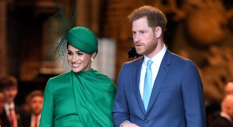 The Good Morning Britain host spoke about his treatment of the Duke and Duchess of Sussex in a new interview (Getty Images)