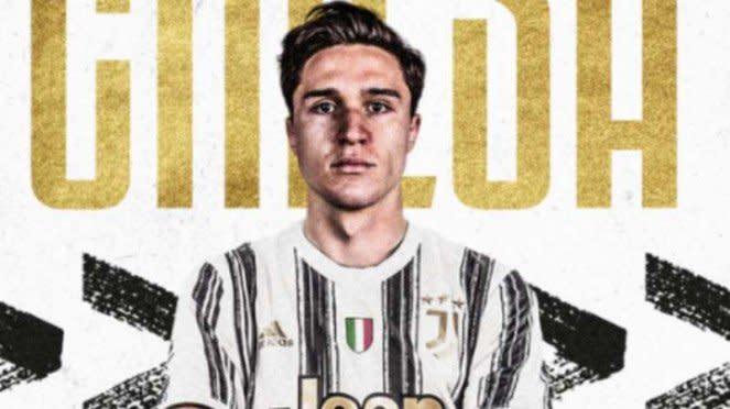 Federico Chiesa bergabung dengan Juventus.