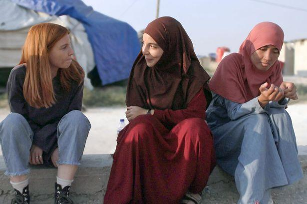 Stacey Dooley travelled to Syria for the Panorma documentary to meet the women being detained at refugee camps. (BBC)