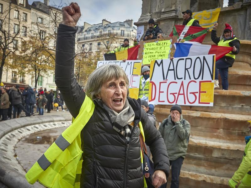 馬克宏尊重罷工 但改革態度堅決