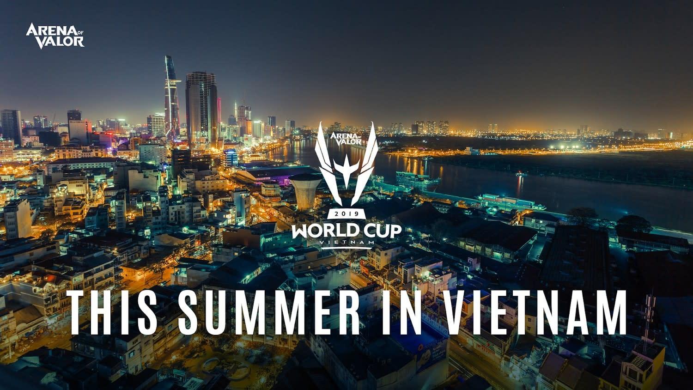 《傳說對決》2019 AWC世界盃將於越南登場。