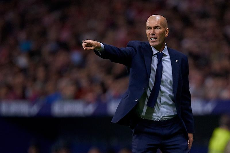 Zinedine Zidane and Real Madrid have stumbled out of the gates in La Liga, same as their rivals Atletico Madrid. (Getty)