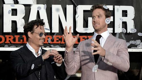 Depp and Hammer Bring 'The Lone Ranger' Home to Disney