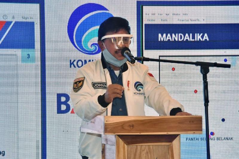 Pembangunan infrastruktur TIK Mandalika jadi fokus pemerintah
