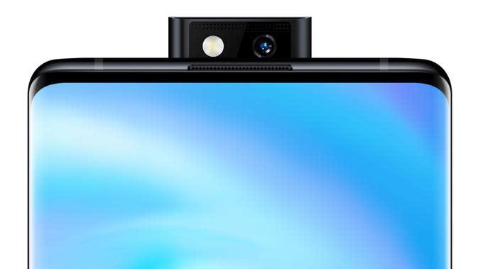Kamera depan Vivo NEX 3 (Foto: Gizmochina)