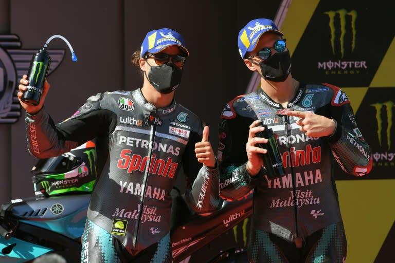 Morbidelli takes pole as Yamaha dominate Catalonia MotoGP qualifying