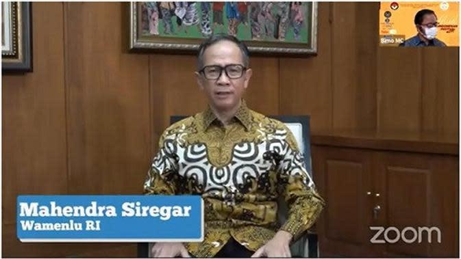 Wakil Menteri Luar Negeri RI Mahendra Siregar. (Kemlu.go.id)