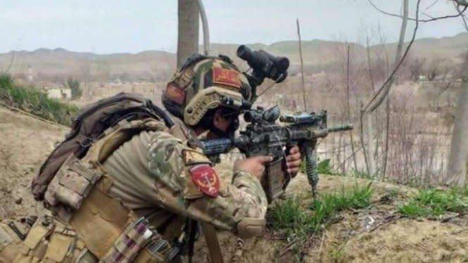 Kepala Intelijen Daesh Pembantai Tentara Tewas Ditembak Pasukan Khusus