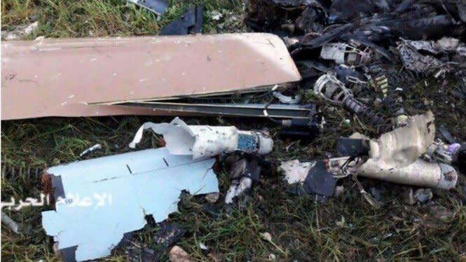 Pasukan Hizbullah Lebanon Tembak Jatuh Drone Militer Israel