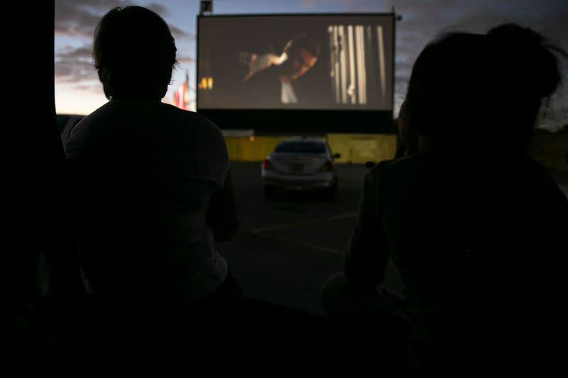 Drive-in movie stages a comeback in U.S. in coronavirus era