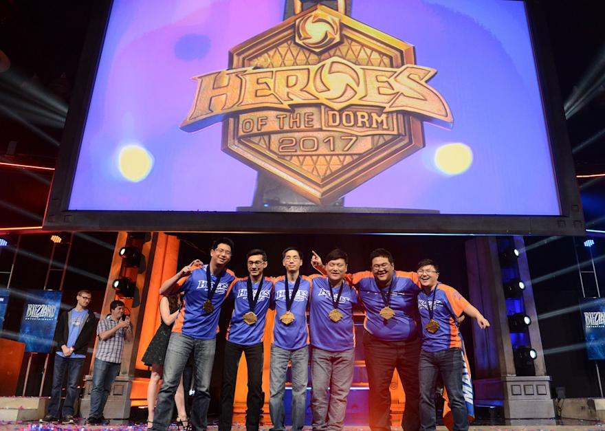 University of Texas-Arlington won Heroes of the Dorm 2017. (Blizzard)