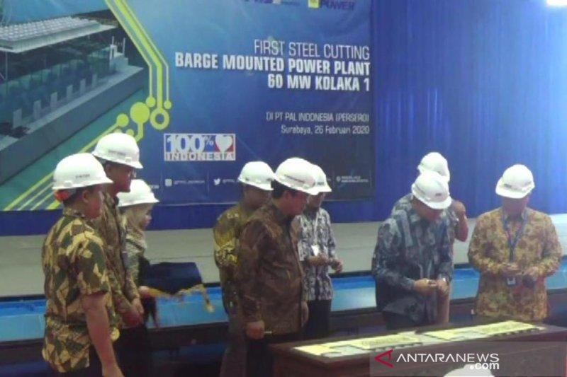 PAL Indonesia bangun kapal pembangkit listrik 150 MW
