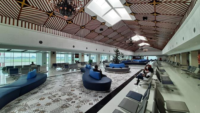 Terminal keberangkatan Bandara Adi Soemarmo Solo.(Liputan6.com/Fajar Abrori)