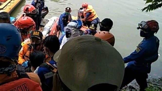 Bocah Tenggelam di Kali Pesanggrahan Cengkareng Ditemukan Tak Bernyawa