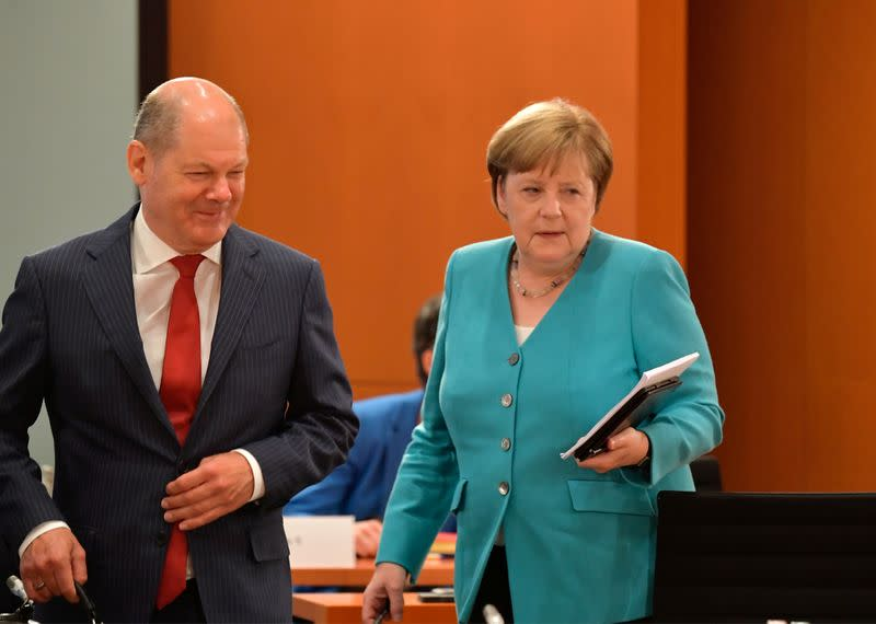 Germany's SPD eyes Scholz as chancellor candidate for 2021 election