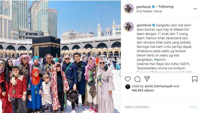 Keluarga Atta Halilintar (Foto: Instagram/@genifaruk)