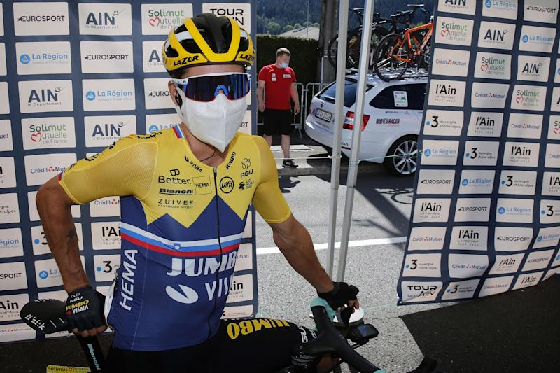 Tour de l'Ain 2020 - 1st stage Montreal la Cluse - Ceyzeriat 139,5 km - 07/08/2020 - Primoz Roglic (SLO - Team Jumbo - Visma) - photo Tim van Wichelen/CV/BettiniPhoto©2020