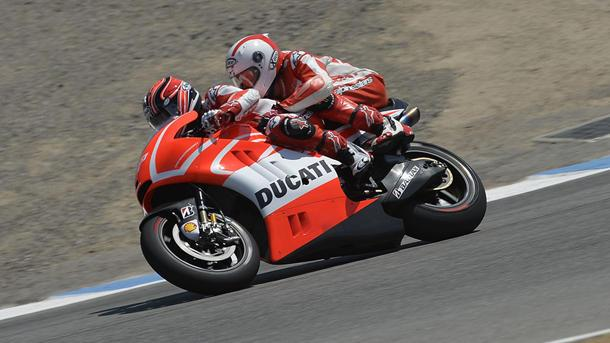 Riding the devil's own motorcycle in MotoGP