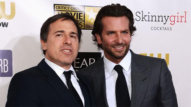 Bradley Cooper and David O. Russell meet with Vice President Biden to discuss mental health