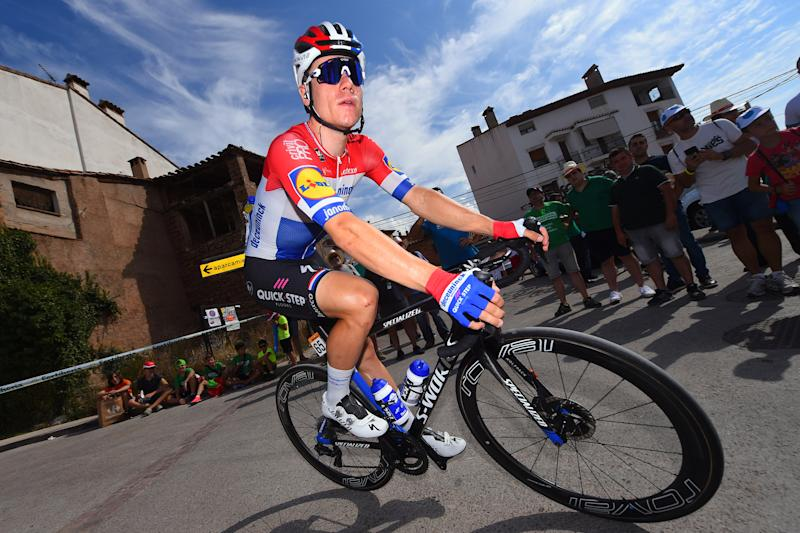 Dutch road race champion Fabio Jakobsen (Deceuninck-QuickStep) on stage 6 of the 2019 Vuelta a España