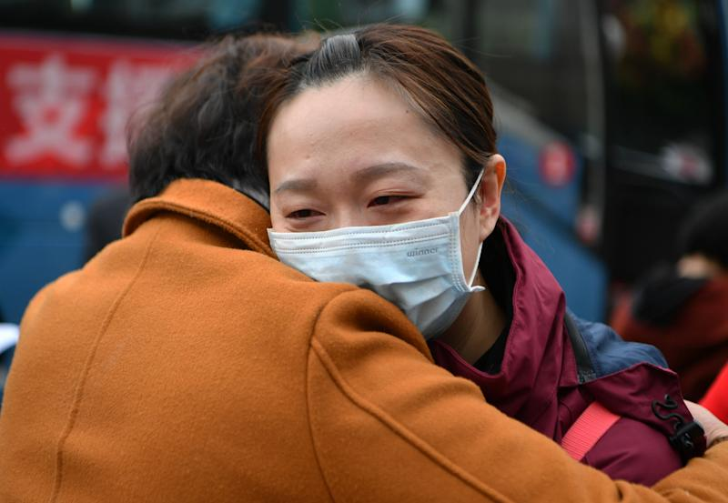 A Wuhan native living in the United States is using TikTok to combat coronavirus misconceptions. (Photo: Wei Peiquan/Xinhua via Getty)