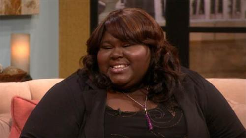 Gabourey Sidibe visits Access Hollywood Live on May 1, 2013 -- Access Hollywood